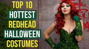 Poison Ivy Halloween Costume Kids 10 Hottest Redhead Halloween Costumes