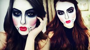Halloween Barbie Makeup by Ventriloquist Doll Halloween Makeup Tutorial Youtube
