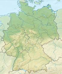 Detailed Map Of Germany by Geography Of Germany Wikipedia
