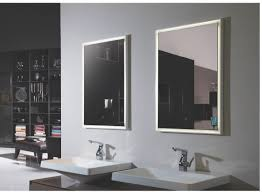 outstanding lighted bathroom mirrors fiori lighted vanity mirror
