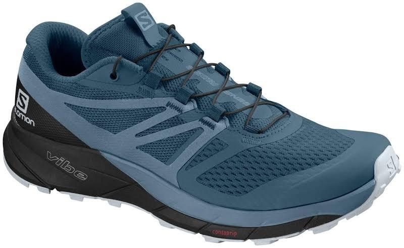 Salomon Sense Ride 2 Trail Running Shoe Mallard Blue/Blue Stone/Black Medium 6.5 L40677700-6.5