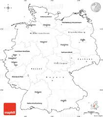 Map Germany by Blank Simple Map Of Germany Cropped Outside