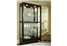 curio cabinet pulaski corner curio cabinets in costco cabinet on