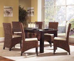 beautiful wicker dining room chair gallery home design ideas