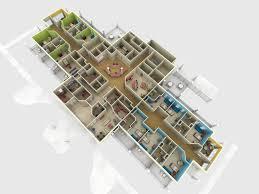 House Floor Plan 3d Floor Plan And 3d Site Plan Renderings Prevision 3d