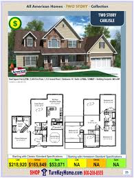 carlisle all american two story modular home two story collection
