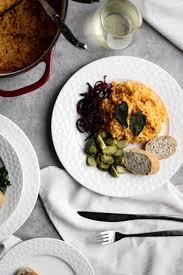 alternative thanksgiving dinner alternative side dishes for turkey dinner pumpkin risotto and