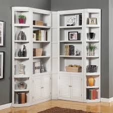 Ikea Bookcase White by Bookcase Stunning Corner Bookcase White White Corner Cabinet