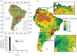 Map Of South America And Caribbean by Extreme Weather And Vulnerability South America Philosophical
