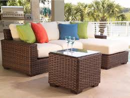 Modern Patio Furniture Clearance vintage metal patio furniture with white color with round table