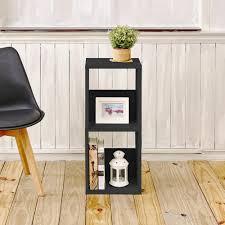 Sauder Black Bookcase by Sauder Edge Water Estate Black Storage Open Bookcase 409046 The