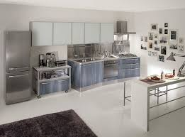 travertine countertops stainless steel kitchen cabinets lighting