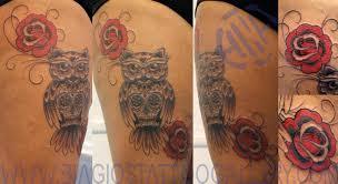 biagio u0027s tattoo gallery tattoos black and gray owl sugar