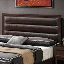 outstanding brown leather headboard queen headboard ikea