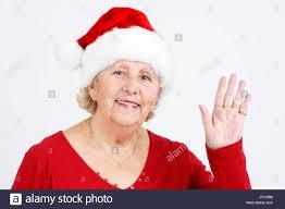 woman party celebration christmas grandma enthusiasm