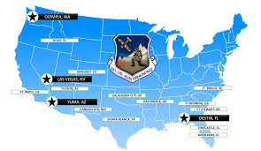 Destin Florida Map by Welcome Blue Air Training