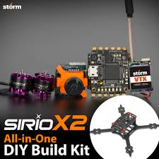 storm racing drone diy kit sirio x2 helipal