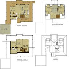 mountain house plans with loft home pattern