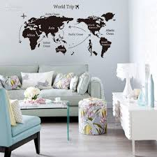 exciting large wall decals for living room modest ideas large wall surprising large wall decals for living room modern ideas large black world map wall decals and