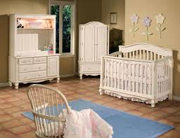 furniture designer crib linens with flower wall ornaments and