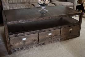 Free Woodworking Plans Round Coffee Table by 17 Free Plans To Build A New Coffee Table