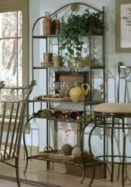 Ideas For Dining Room Table Decor by 44 Best Ideas For Decorating Bakers Rack Images On Pinterest