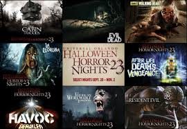 halloween horror nights peak nights here it is the full haunted house lineup for halloween horror