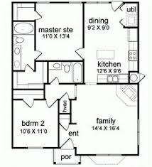2800 Square Foot House Plans Mediterranean Style House Plan 2 Beds 2 Baths 1000 Sq Ft Plan 1