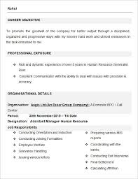 Human Resources Resume Example   Sample Best Resume Gallery