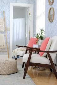 Contemporary Chairs For Living Room by Mid Century Modern Chairs In The Guest Room The Chronicles Of Home