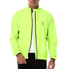 fluorescent bike jacket amazon com 4ucycling lambda men u0027s windproof cycling jacket quick