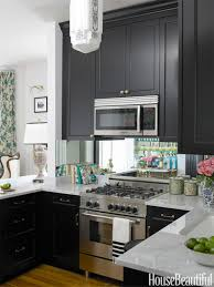 kitchen room plain and fancy paint splatter over the stove