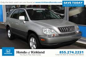certified lexus seattle pre owned 2003 lexus rx 300 4wd sport utility in kirkland 9865e