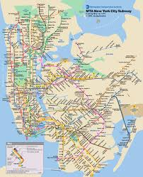 Map New York City by Tips For Riding The Nyc Subway System Subway Map Nyc Subway And