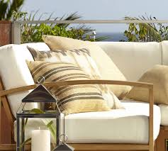 Outdoor Furniture Teak Sale by Madera Teak Outdoor Furniture Cushions Pottery Barn
