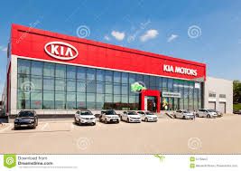 dealer toyota office of official dealer toyota in samara russia editorial stock