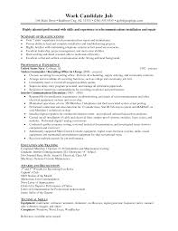 Technical Skills On Cv Sample Resume For Iti Electrician Resume For Your Job Application