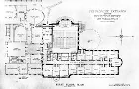 Massive House Plans by Truman Reconstruction White House Museum