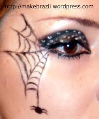 Halloween Kids Witch Makeup by Make Up Tutorial U2013 Spider Web For Halloween Spider Webs Spider