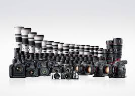 Canon EOS Camera Linup