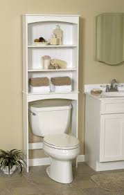Bathroom Storage Shelves Over Toilet by Zenna Home E9144w Open Shelf Over The Toilet Spacesaver White