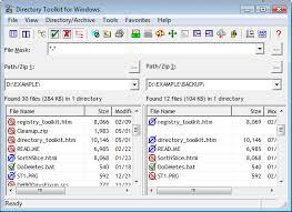 Directory Toolkit   Funduc Software Directory Tookit Screen Shot