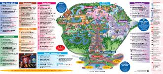 Orlando Universal Studios Map by Park Maps 2009 Photo 4 Of 4