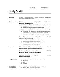General Sample Resume Curriculum Vitae General Cover Letter For Internship Java Web
