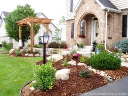 Front Garden Design Ideas Low Maintenance Simple Front Garden Design Ideas For Small Gardens The About