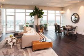 Small Penthouses Design by Small Minimalist Penthouse Design Interior Indoor Plant Wood Floor