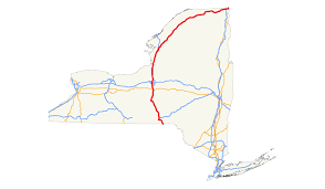 Liverpool Ny Map U S Route 11 In New York Wikipedia