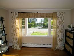 windows small windows decor living room curtain ideas for bay