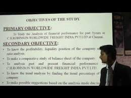 MBA Project Presentation on Financial Performance   YouTube MBA Project Presentation on Financial Performance