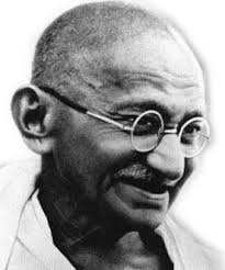 Mahatma Gandhi (Gandhi). Portrait. Born: 1869 AD Died: 1948 AD, at 78 years of age. Nationality: Indian Categories: Political Activists - 33450_Mahatma-Gandhi